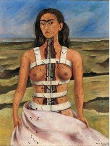 Frida Kahlo autoritratto