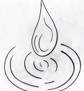 tatuaggio goccia