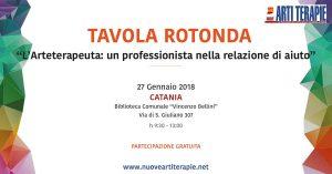 Tavola Rotonda Arteterapia a Catania