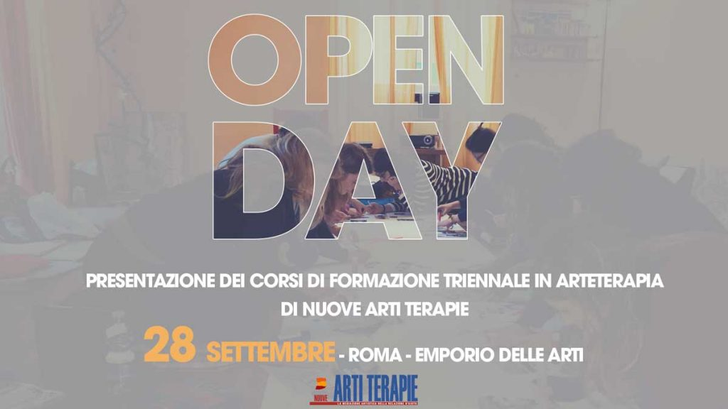 Open Day Arteterapia 2019 Roma