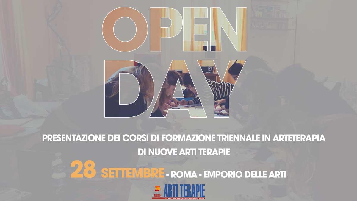 Open Day Arteterapia 2019 Roma