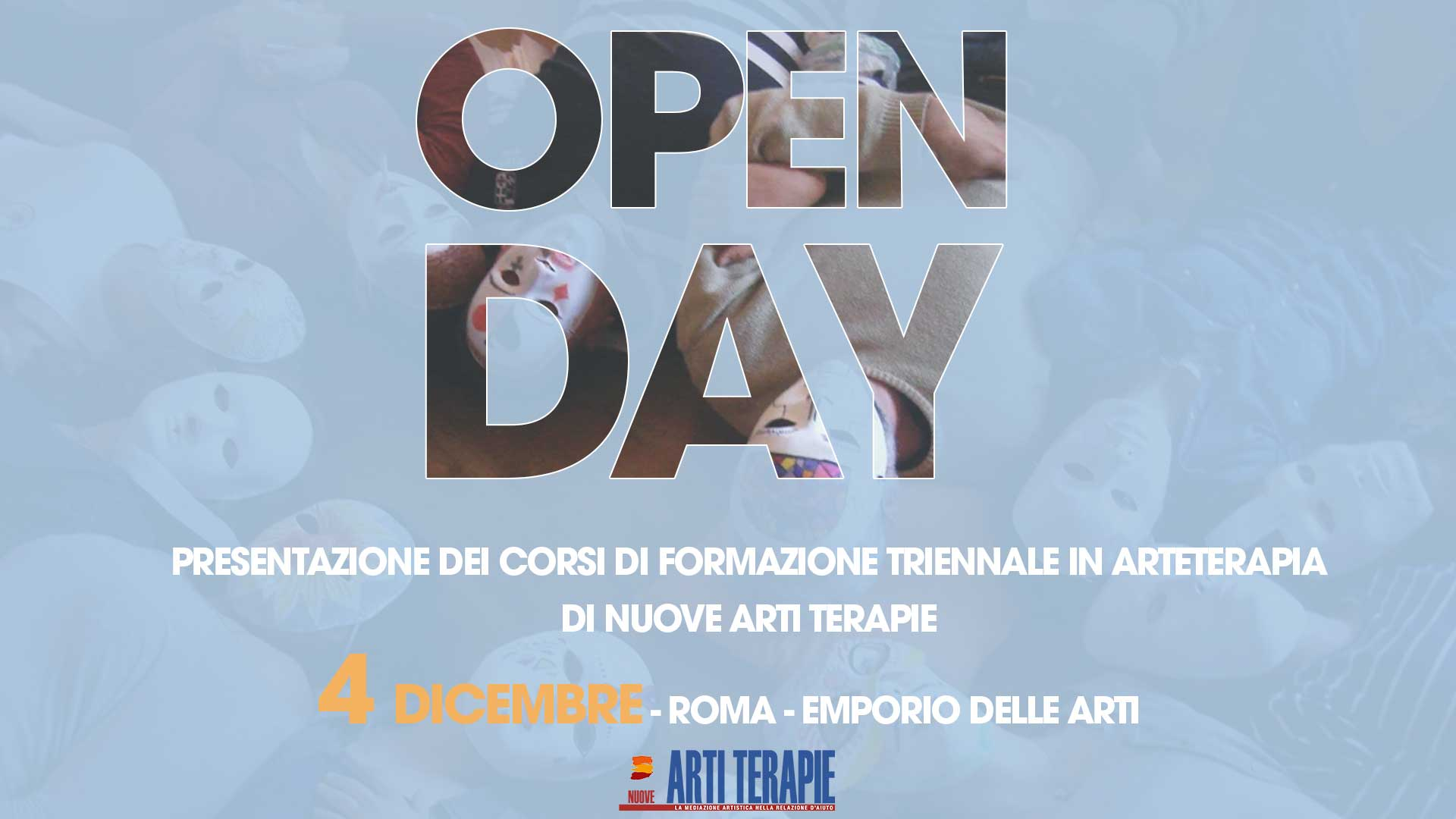 Open Day Arteterapia - Roma
