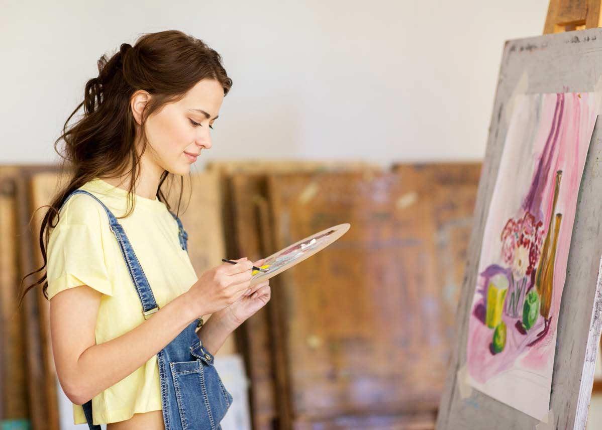 Donna che dipinge